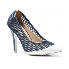 New Women's  High Heel Stiletto  Shoes Court Navy #VICES #CourtShoes #Casual