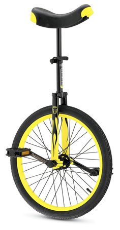 Learn to ride a unicycle