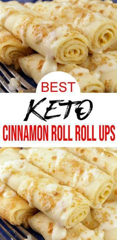 Low Carb Sweets, Low Carb Desserts, Low Carb Recipes, Flour Recipes, Quick Recipes, Bread Recipes, Best Homemade Bread Recipe, Comida Keto, Roll Ups Recipes