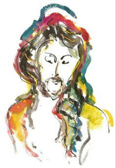 Cristo Barroco. Carlos Bracher, 2012. Veja também: http://semioticas1.blogspot.com.br/2012/03/bracher-barroco.html