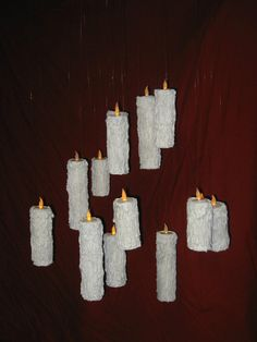 holiday, halloween decorations, float candl, candl halloween, floating candles