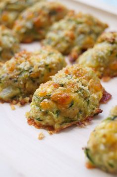 These healthy zucchini tots are a great side dish to add to any meal! There are also Weight Watchers Points Plus included!