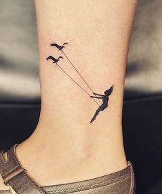 Swing Small Tattoo by Jay Shin tattoo for women ideas 100 Of The Best Small Tatt. - Swing Small Tattoo by Jay Shin tattoo for women ideas 100 Of The Best Small Tattoos - Tattoo Insider - Tiny Tattoos For Girls, Small Tattoos With Meaning, Cool Small Tattoos, Little Tattoos, Small Tattoo Designs, Pretty Tattoos, Mini Tattoos, Tattoo Girls, Tattoos For Women Small