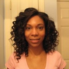Latest News on How to Curl Hair. She's beautiful and we lik what she has done to her hair!