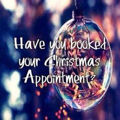 The holidays are approaching! Make sure to prebook is your December appointment before it's gone 🎁 Christmas Hair, Christmas Quotes, Christmas Bulbs, Christmas Time, Lips Quotes, Hair Quotes, Holiday Hairstyles, Feathered Hairstyles, Booth Rent Salon