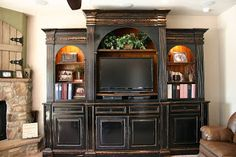 Doubletake Decor: Entertainment Center
