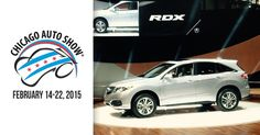 First look at the 2016 Acura RDX. The new RDX focuses on performance, style and safety. #CAS2015
