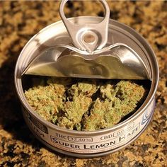 Order it on http://Papr.Club - Super lemon haze in a tin can packaging. #pineapple…