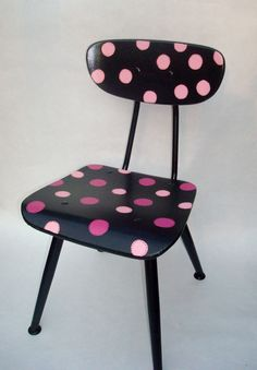 Recycled Hand Painted Child's Chair