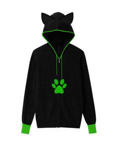 Hoodie Cat Noir EarCat 3