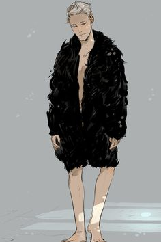 """Cassandra Jean's postcard of Mark Blackthorn for Lady Midnight release. Mark misunderstands the concept of """"semi-formal."""" :)"""