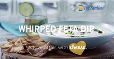 This recipe will confirm your 'love affair with cheese'. Whips up in a snap and is creamy, herbaceous and bright! Whipped Feta, Feta Dip, Healthy Food, Healthy Recipes, Easy Chicken Recipes, Serving Dishes, Pesto, A Food, Affair