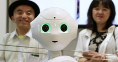 Pepper, which is made by the Japanese company Softbank, is going to become available in the US this year. This 'emotional' robot is coming to the US — and it wants to live in your home