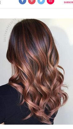 Chocolate Rose Gold