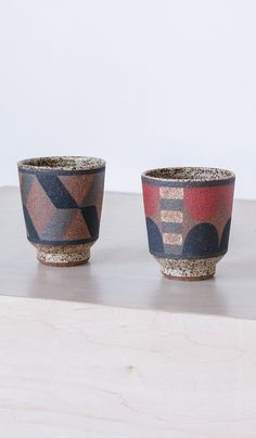 Kat and Roger Straight Side Ceramic Tumbler