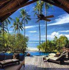 Looks like paradise