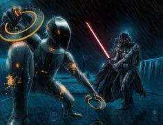 Tron vs Darth Vader