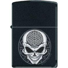 Celtic skull zippo !