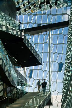 Harpa, the Reykjavik Concert Hall and Conference Center   Henning Larsen Architects, Batteríið Architects, Studio Olafur Eliasson; Photo: Nic Lehoux   Bustler