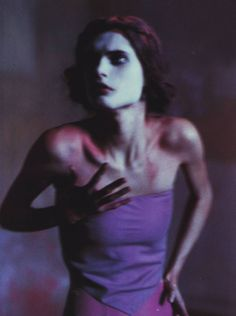 Malgosia Bela by Paolo Roversi for Vogue Italia February 1999