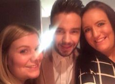 Liam and his sisters backstage at The X Factor Final (last big event before the break) - 12/13/15