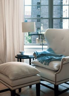 "classic chair styles are always ""in"" - victoria hagan."