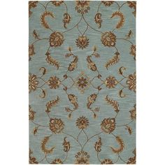 Saiber Rugs - Light Blue | Pier 1 Imports