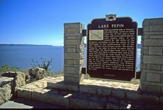1. Lake Pepin is actually the widest part of the Mississippi River.