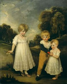 The Sackville Children by John Hoppner 1796