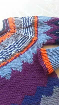 Owl colors by Nihon Marianne #knitting #sweaters