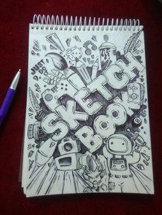 First Page Decoration Of Drawing Book New First Page Of My Sketchbook Doddleart Doodle Art Drawing, Dark Art Drawings, Pencil Art Drawings, Cute Drawings, Drawing Faces, Drawing Tips, Drawing Ideas, Graffiti Doodles, Graffiti Drawing