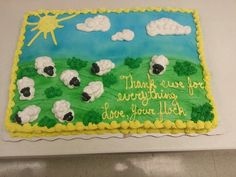 A talented lady in Semmes, AL Wal Mart made this cake for our Pastor :-)