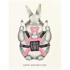 Dear Hancock Mother's Day Bunny