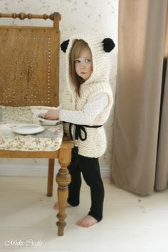 KNITTING PATTERN hooded cardigan Sheep Sheridan (2-3y/4-5y/6-7y/8-10y sizes) (5.00 USD) by MukiCrafts