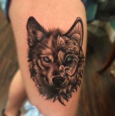 today we're going to satisfy our ink hunger with the most beautiful wolf tattoos that the internet has ever seen #AnimalTattoos #womenchesttattoos