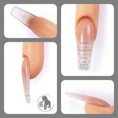 Medium length acrylic nails nails pinterest acrylics makeup nail length chart please refer to this chart when scheduling your appointment please note if would like a shape other than square you will need a medium prinsesfo Gallery
