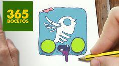 COMO DIBUJAR LOGO TWITTER ZOMBIE KAWAII PASO A PASO - Dibujos kawaii fac...