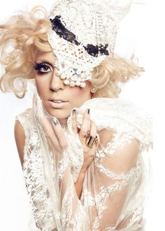 """Gaga :""""you don't have to be one way or another. I'm a lot of different people."""""""