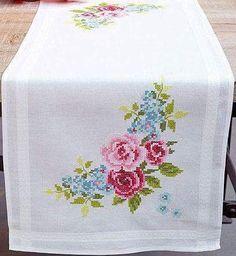 Buy Pretty Pansies Table Runne |