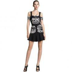 Bqueen Off-The-Shoulder Bandage Dress H244E - Designer Shoes bqueentrade.com