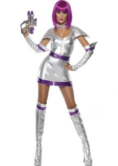 Sexy Space Cadet Astronaut Costume