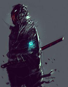 Darkfall Sandman, Benedick Bana on ArtStation at https://www.artstation.com/artwork/darkfall-sandman