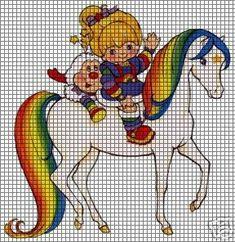 Rainbow Brite Starlight Crochet Pattern