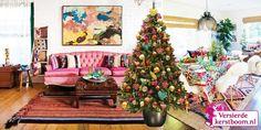Kant en klaar versierde kerstboom Ibiza Love