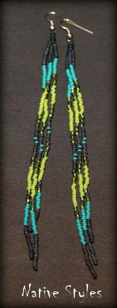 7Boho Long Tassel EarringsLong Shoulder Dusters by NativeStyles