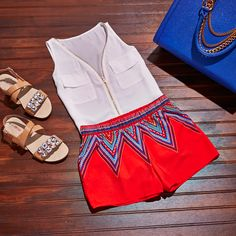 'Like' if you love this short and sweet #ootd! Shop now