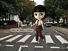 Blythe on Abbey Road
