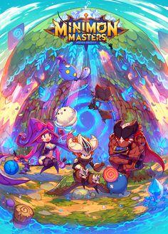 Minimon Master poster by Lenn