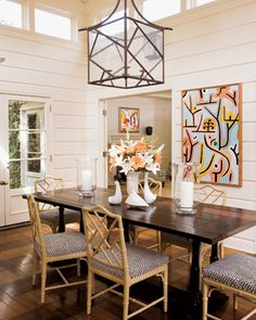 Design Chic: Things We Love: Painted Paneling
