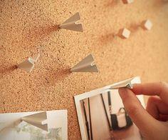 Flying Pushing - Iron Push Pin - Thumbtack - Drawing Pin - 6 PCS by mieryaw on Etsy Office Deco, Drawing Pin, Cute Office, Nail Photos, Paper Plane, Cork Crafts, Cool Inventions, Metal Pins, Cool Things To Buy